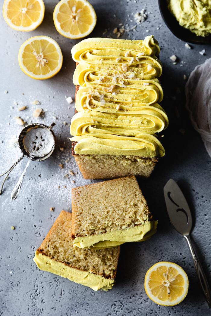 Easy Classic lemon loaf cake recipe
