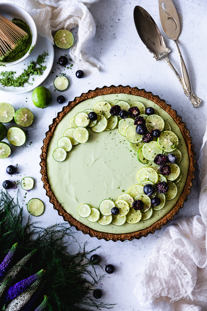A refreshing recipe for summer, key lime no-bake cheesecake