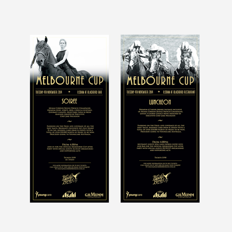 FLYERS - Melbourne Cup