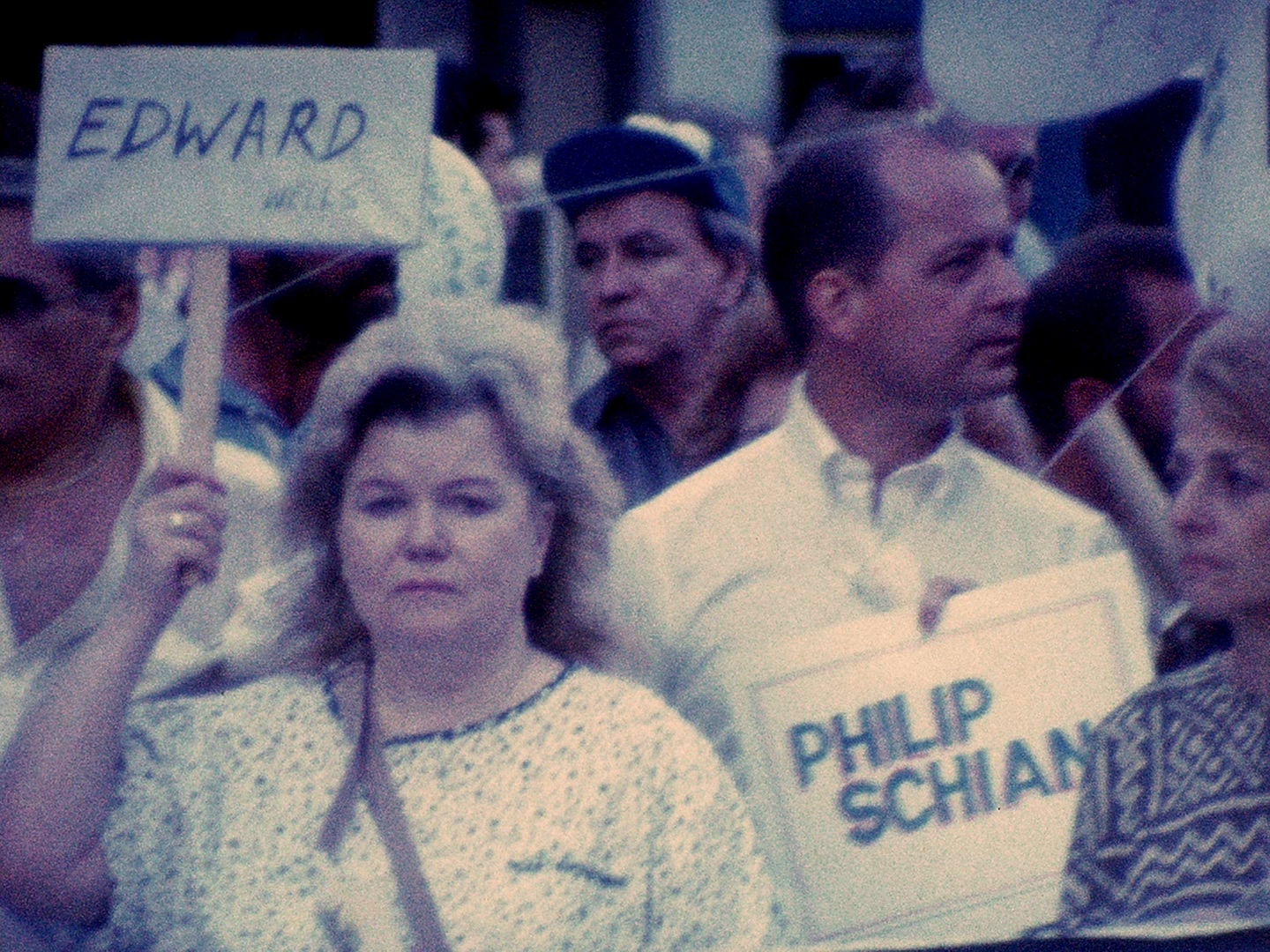 AIDS Candlelight Vigil, Christopher Street, New York City, May 1987. Courtesy Jim Hubbard. Image subject to copyright laws.