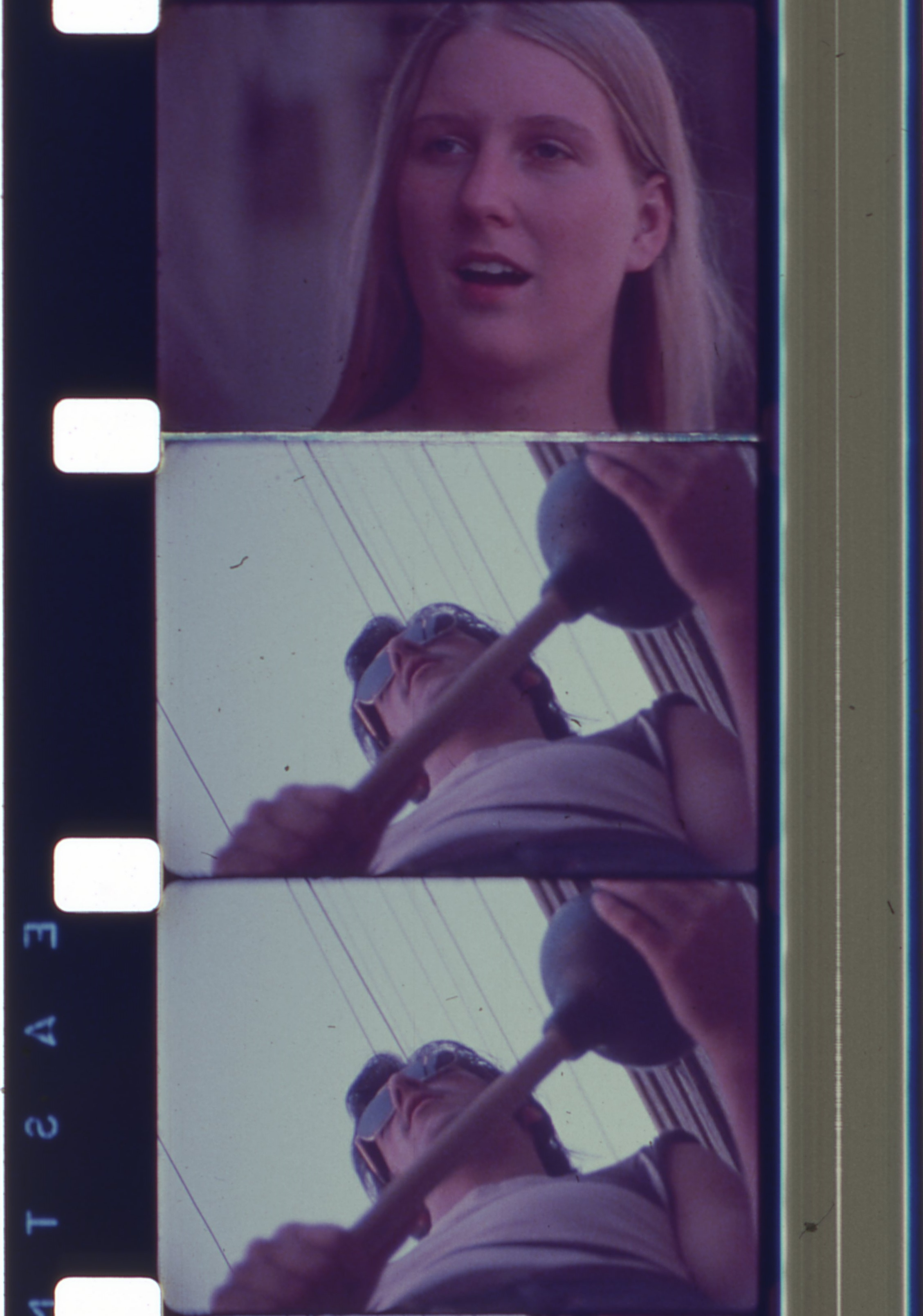 16mm film strip still,  The Case of the Kitchen Killer  (1976), Tim Smith Moving Image Collection. Courtesy Oregon Historical Society. Image subject to copyright laws.