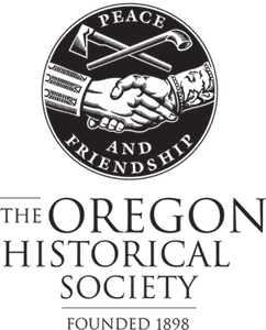 Oregon Historical Society Logo - Black and White, Vertical 300.png