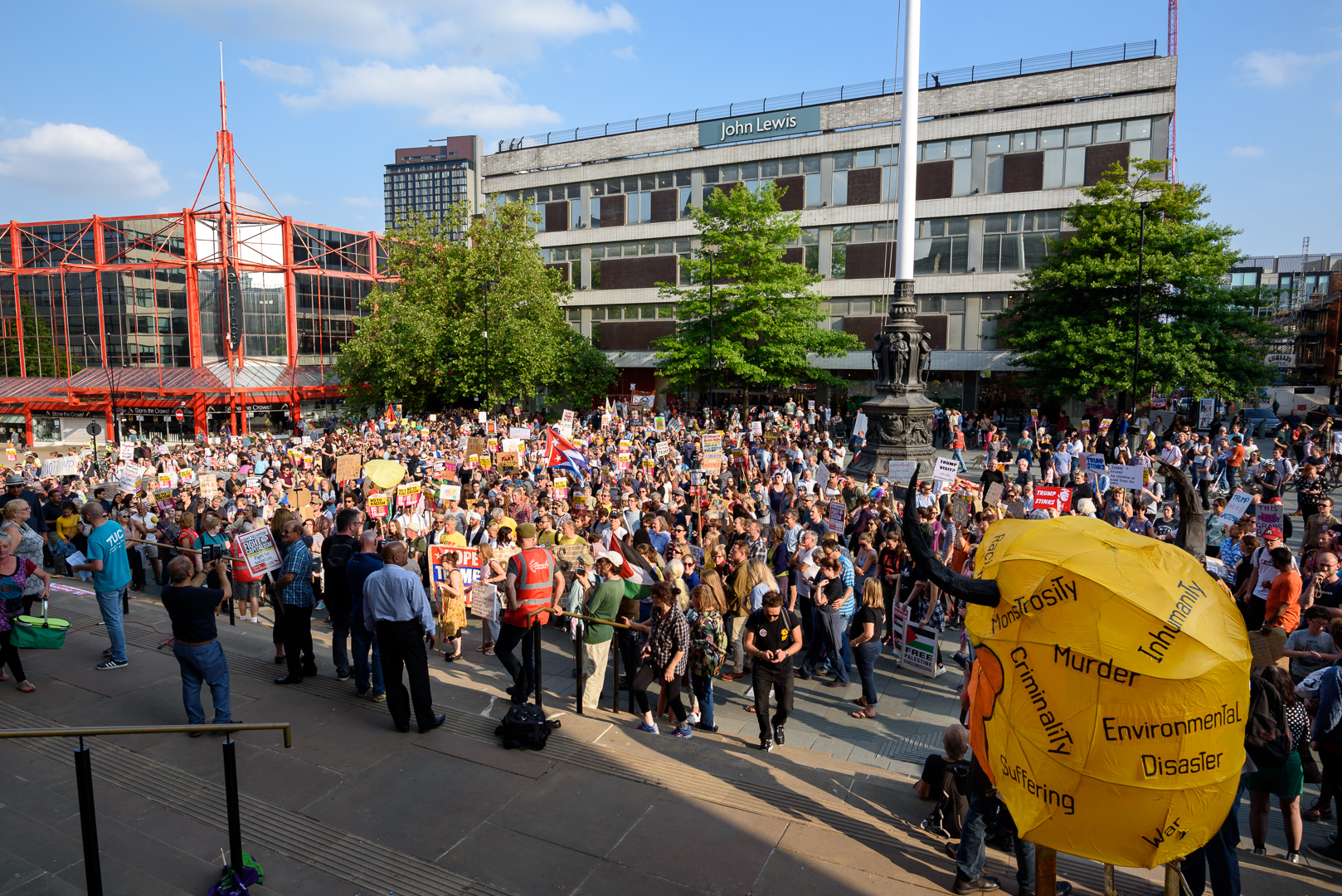 Sheffield Anti-Trump rally July 2018 Blog02.jpg