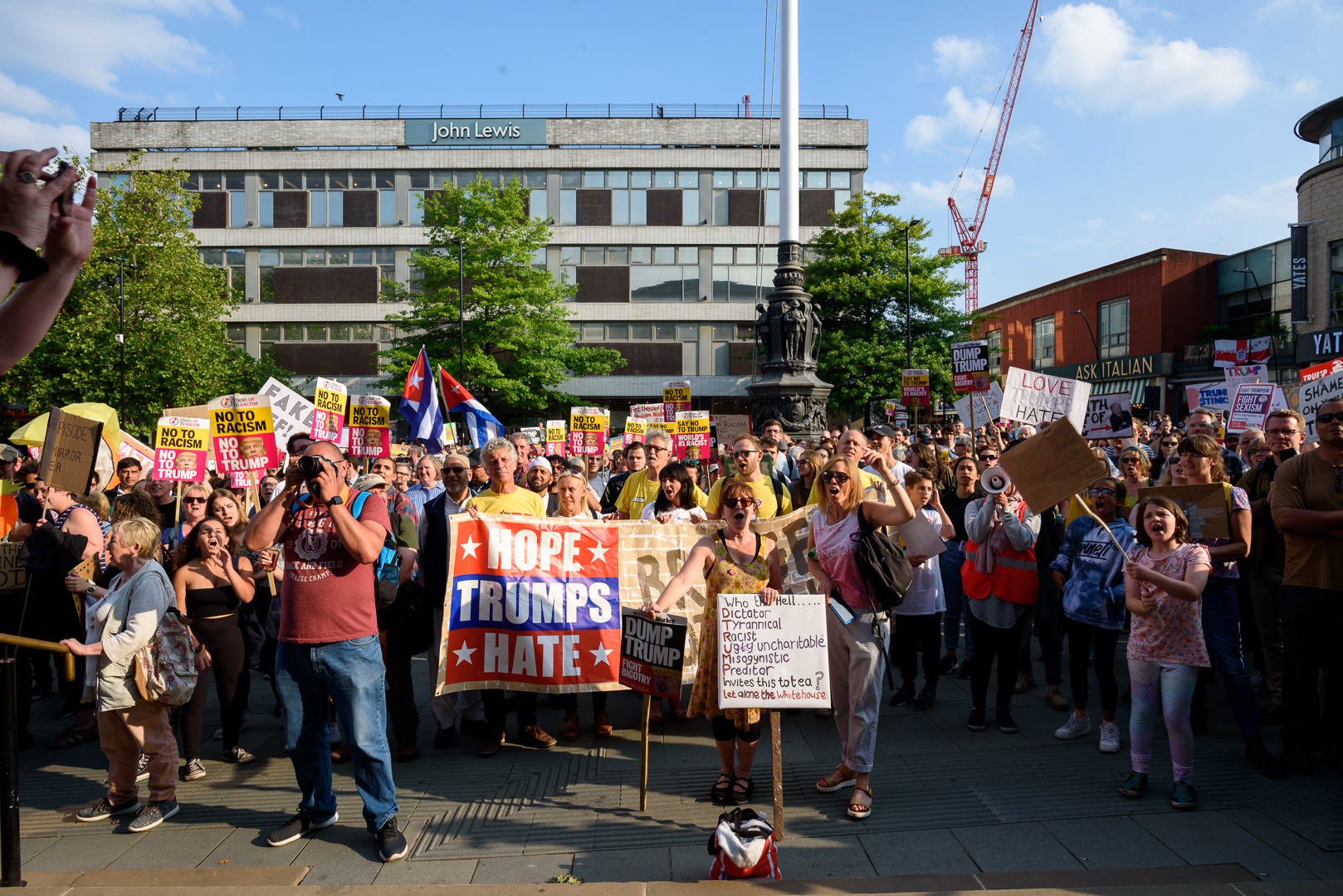Sheffield Anti-Trump rally July 2018 Blog03.jpg