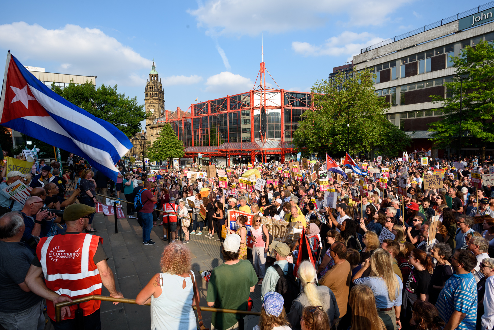 Sheffield Anti-Trump rally July 2018 Blog06.jpg