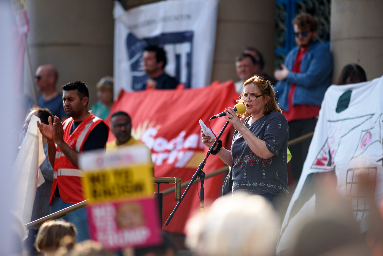 Sheffield Anti-Trump rally July 2018 Blog08.jpg