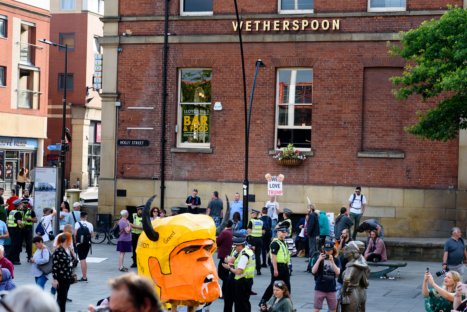 Sheffield Anti-Trump rally July 2018 Blog07.jpg