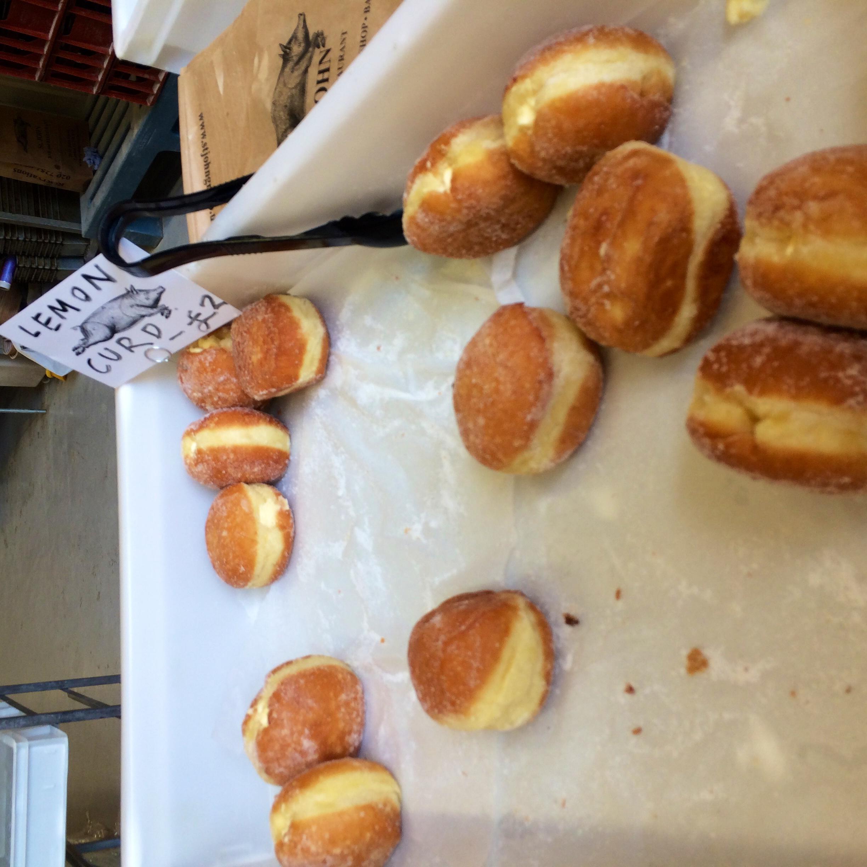St. John's fresh lemon curd doughnuts
