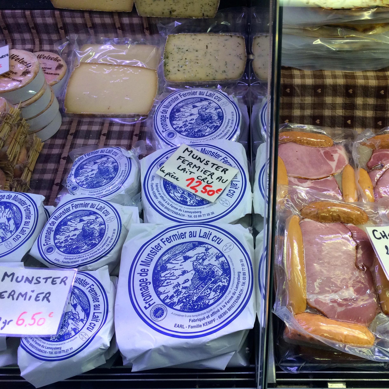 Beautiful Munster cheese