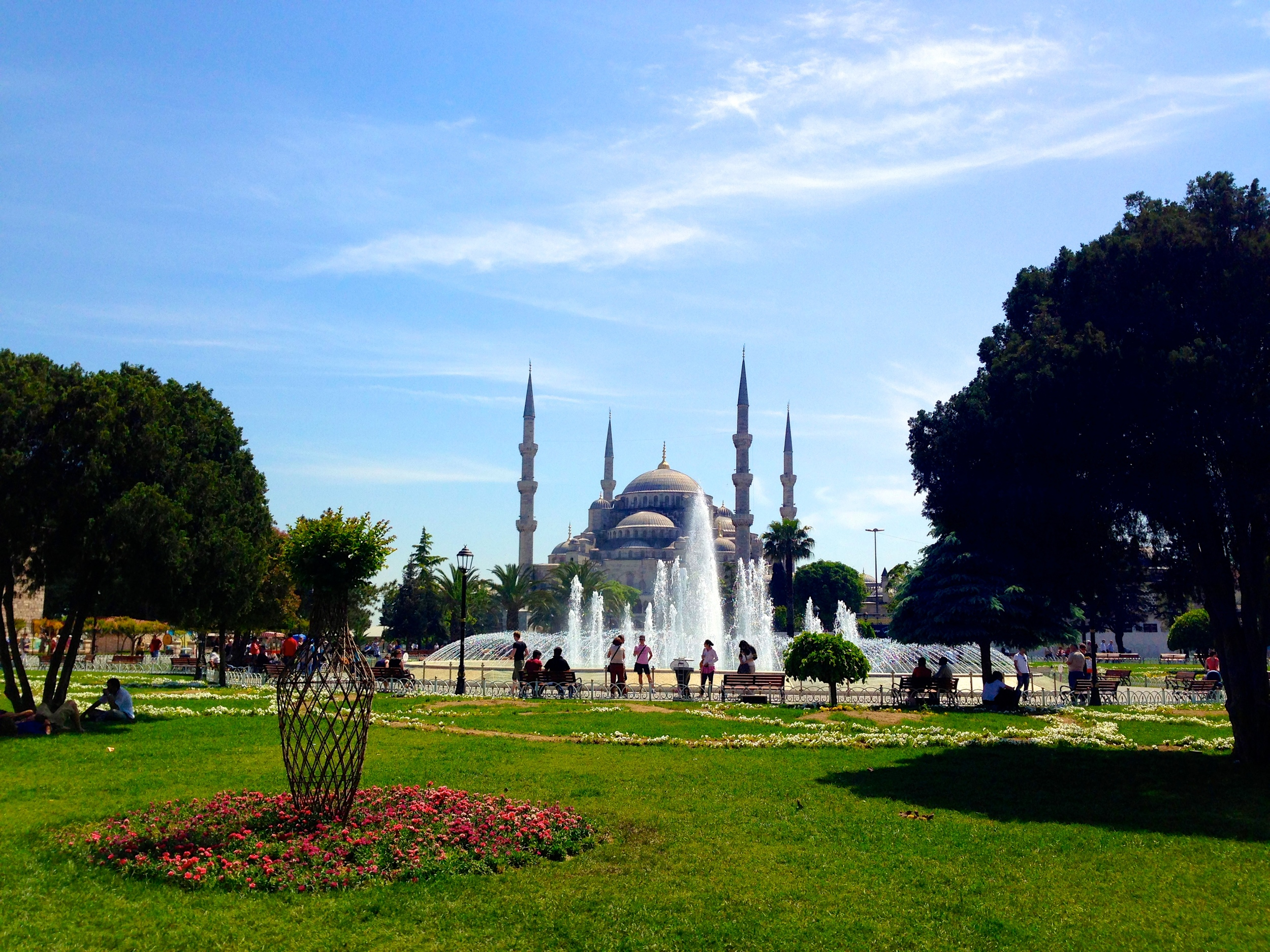 Blue Mosque ( Sultanahmet Camii), Istanbul