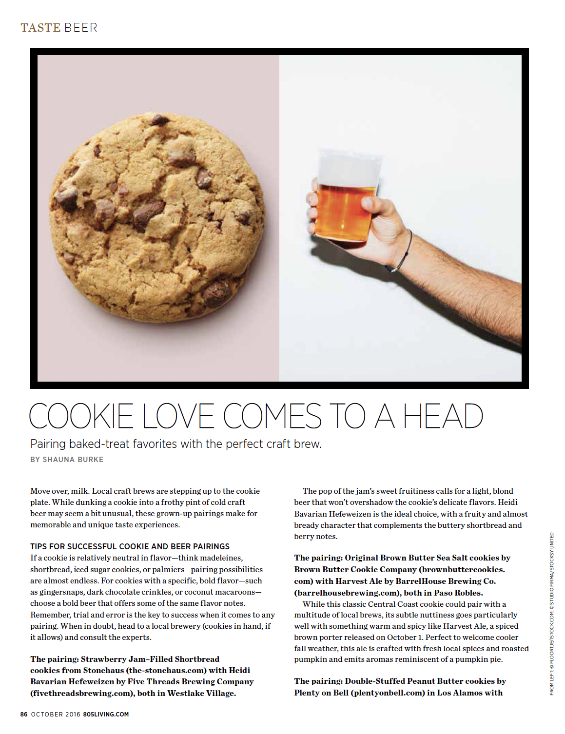 Cookie Love Comes to a Head / 805 Living