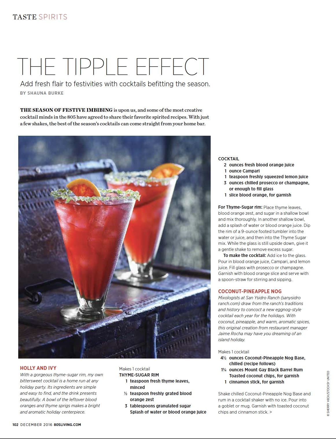 The Tipple Effect / 805 Living