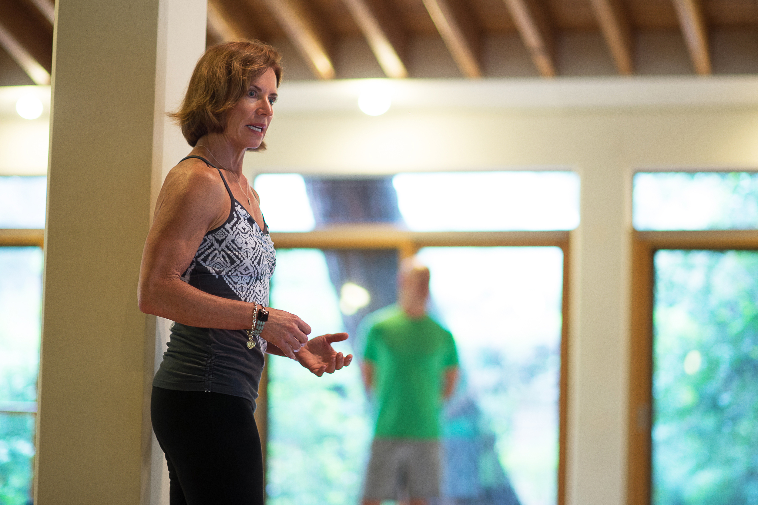 Conni's deep understanding of anatomy and kinesiology enriches her Pilates practice.