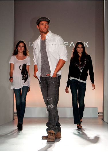 This photo is from an Irvine fashion show. 'Nuff said.