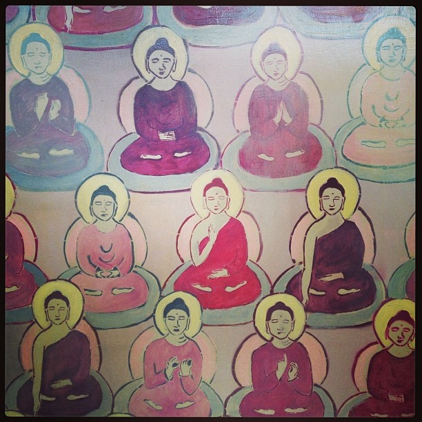 Ten Thousand Buddhas art show in Pt Reyes… Beauty by Amanda Giacomini #MCyogi