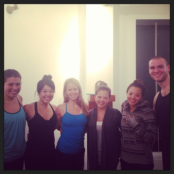 Thank you to the Lululemon crew for supporting tonight's class!