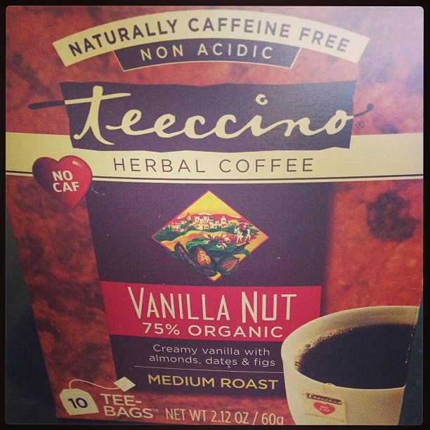 Just found the most amazing coffee substitute. And when I love something, I am moved to share it!;)  Rainbow grocery always has the good stuff