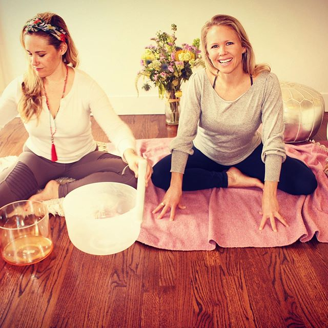 Lucia and I are aligning again to offer a beautiful evening of Slow Flow Yoga and a restorative Sound Bath!  Lucia's voice is angelic, powerful and intentional❤️.. this is an evening designed to fully receive the healing benefits of movement and sound❤️ #Save Friday, September 13th 6:30-8:30pm to move and relax with us @thepadstudios ❤️❤️ https://thepadstudios.com/event/slow-flow-restorative-sound-healing/  Sign up soon ($10 off if you sign up before September 7th❤️) @lucialilikoimusic