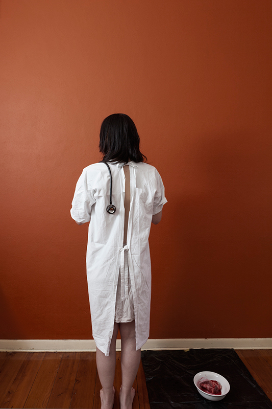 "Emotional Hypochondria - Part 6 , 2013 Archival Ink on Baryta, 16"" x 24"""