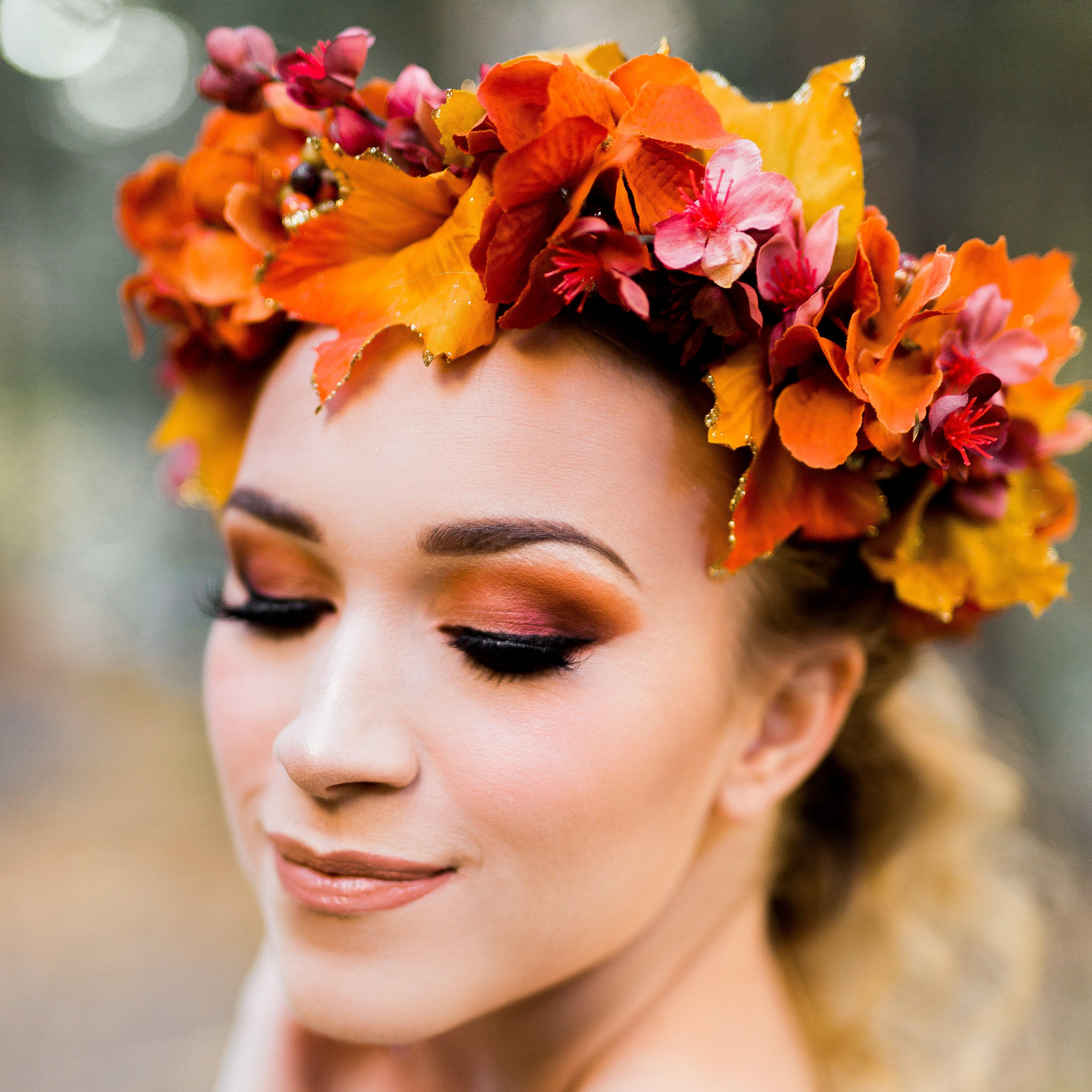 Gracefully Bloomed - Faux Flower CrownsFeatured:  Fall Collab '17  -