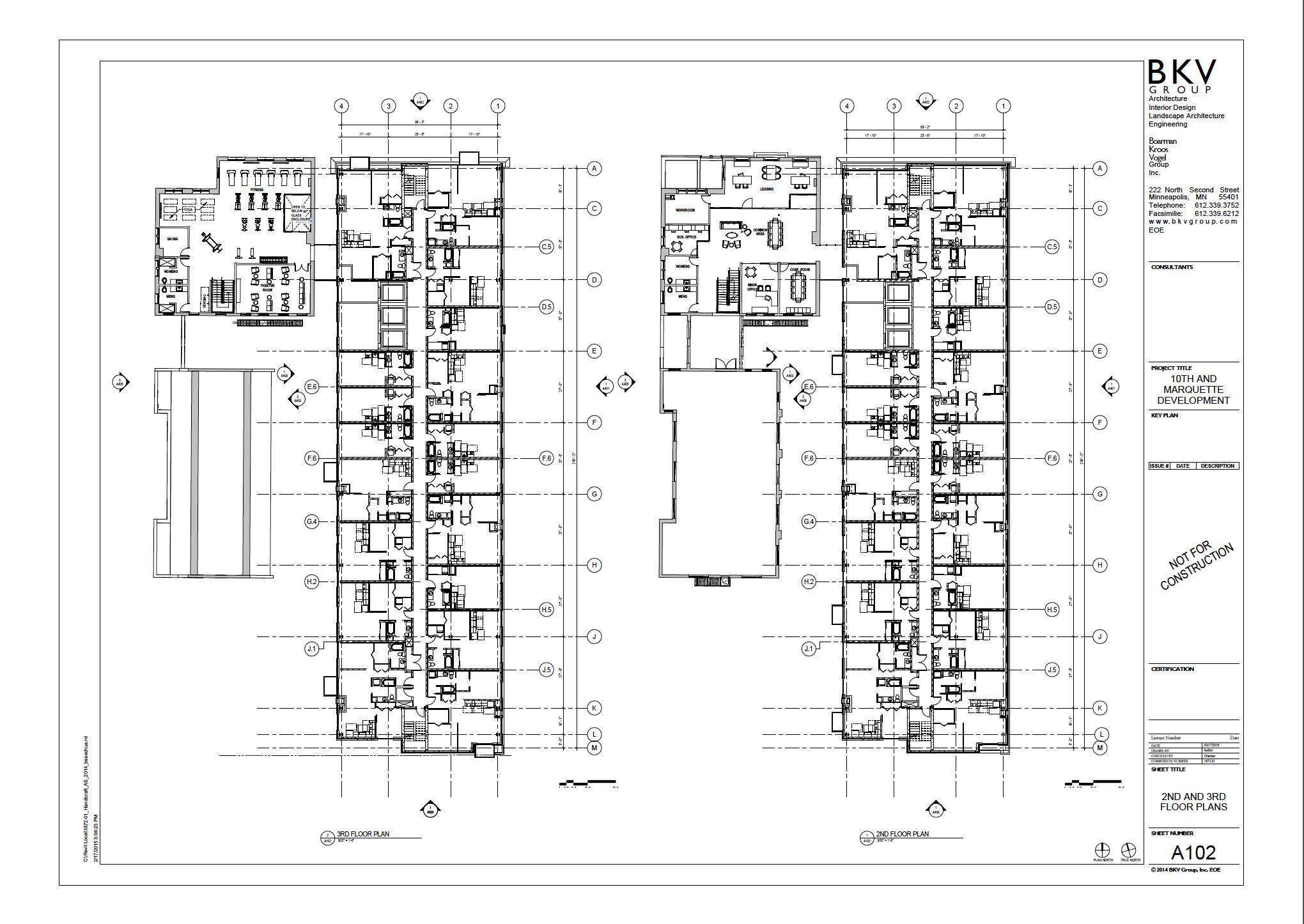 Floors Two &Three