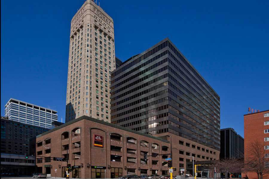 Above:  TCF Bank's downtown Minneapolis headquarters  | Franklin Street Properties