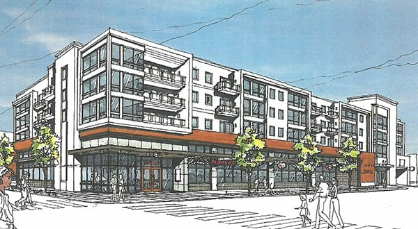 Rendering of the project  |  Whittier Alliance