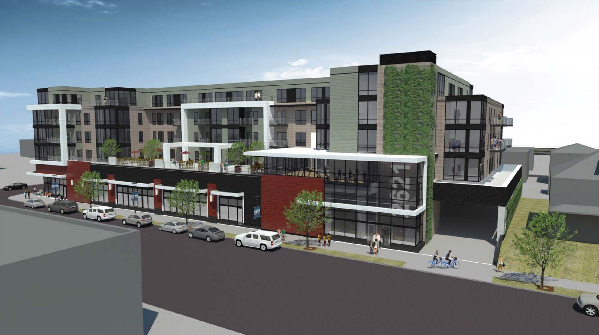 Exterior of REX26     Minneapolis Planning Commission