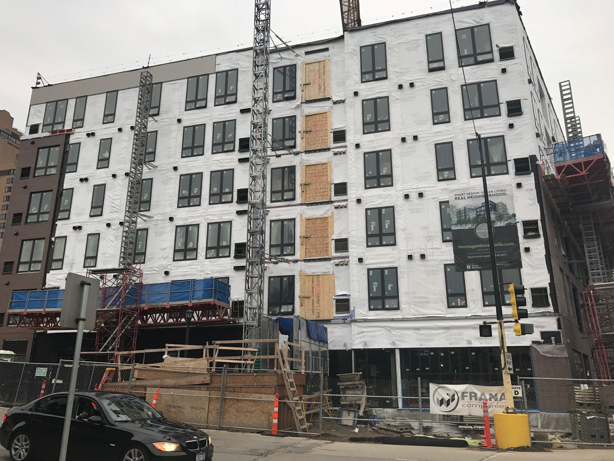 MONTAGE - CONSTRUCTION PROGESS: 08.16.17