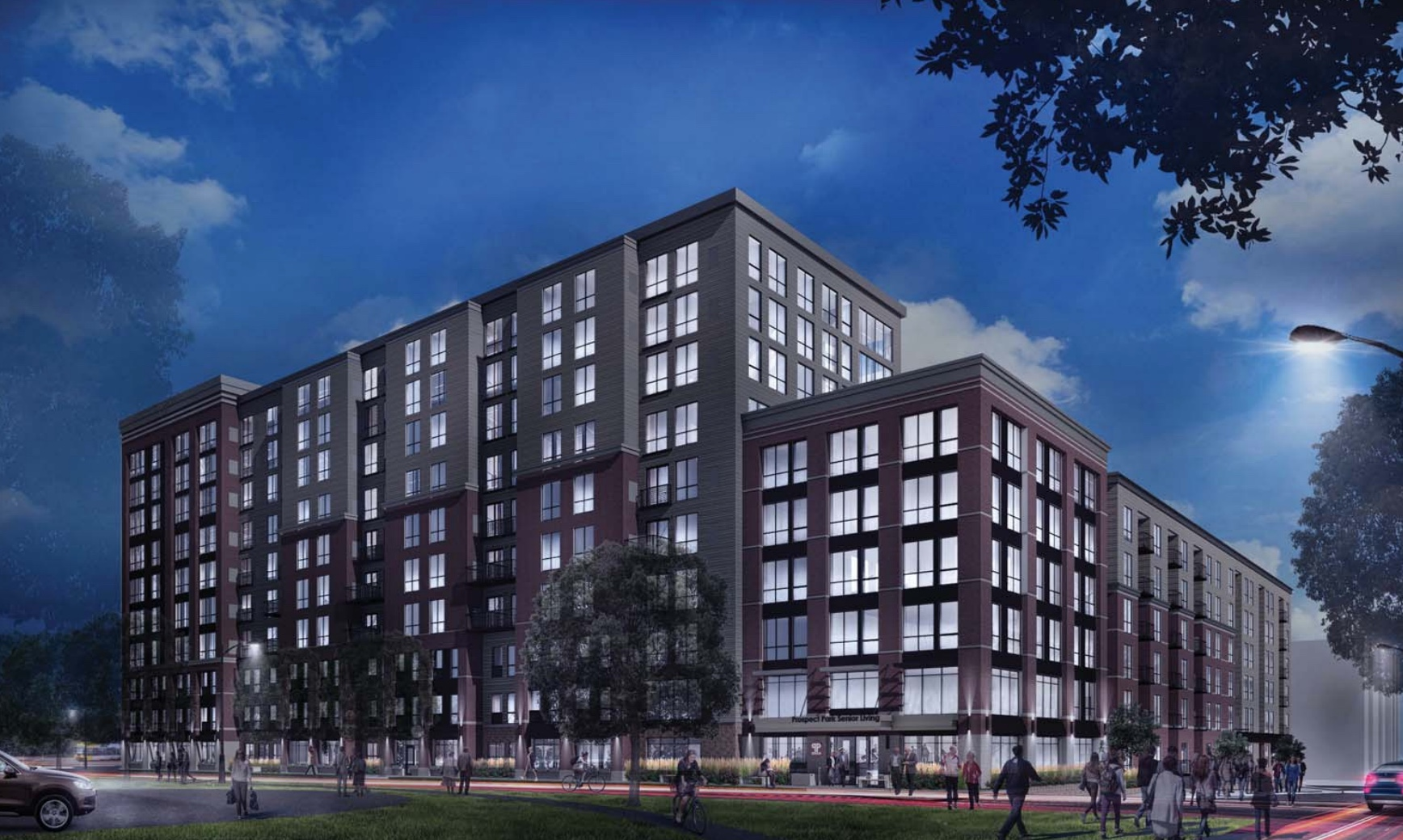 10 STORY SENIOR LIVING PROJECT PLANNED FOR PROSPECT PARK