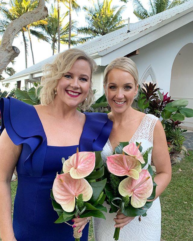 Congratulations to our beautiful Bride Amy. Makeup by @thebridalmakeupco #DestinationWedding #PalmCove