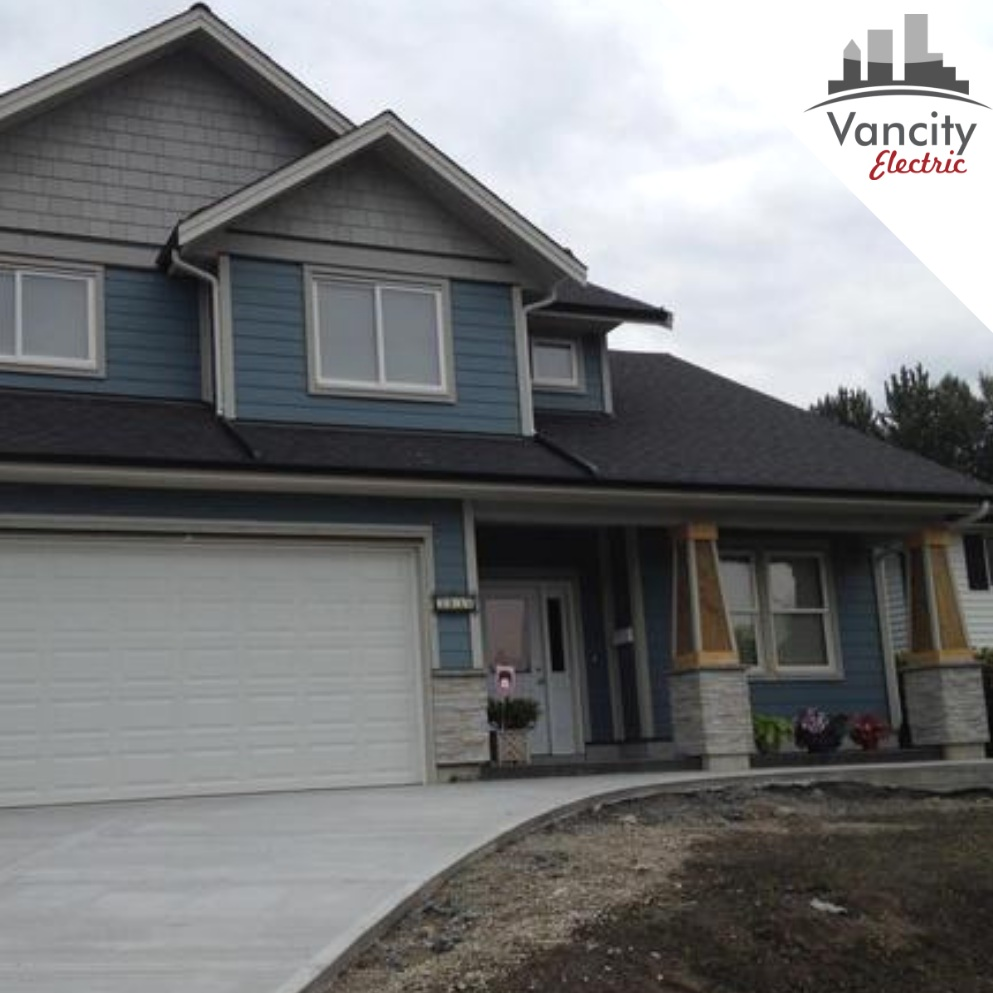 CUSTOM NEW HOME BUILD, ELECTRICAL IN COQUITLAM