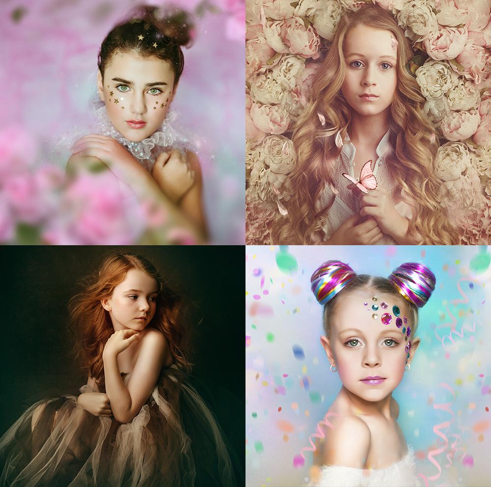 Children's Fine Art Portraits