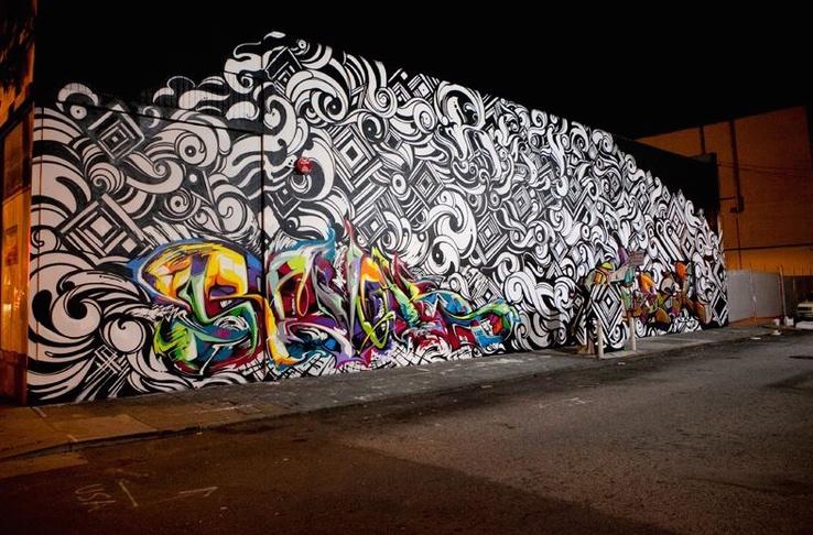 San Francisco Graffiti Mural Artist