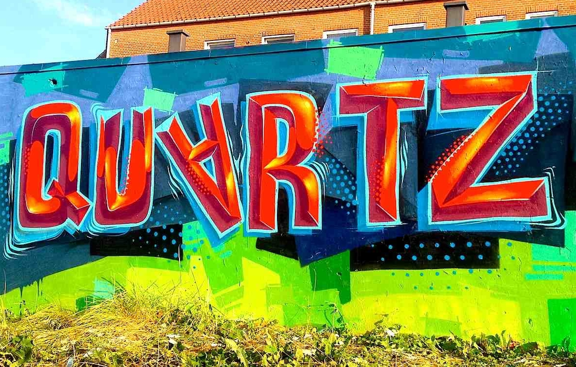 Hire Graffiti Artist San Francisco | Rye QUARTZ 6
