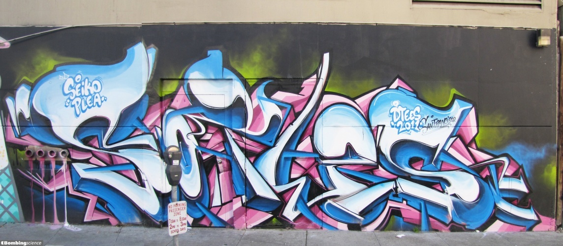 Sofles Graffiti Artist for Hire San Francisco