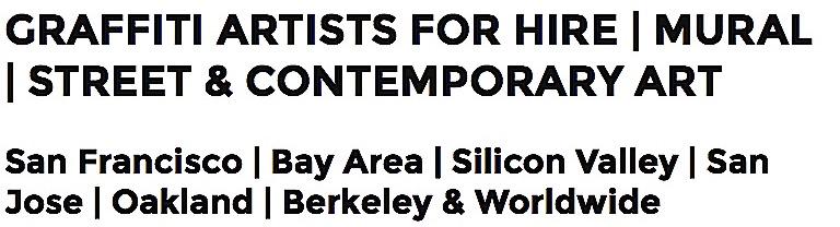 Urban Contemporary Artist for Hire San Francisco Bay Area