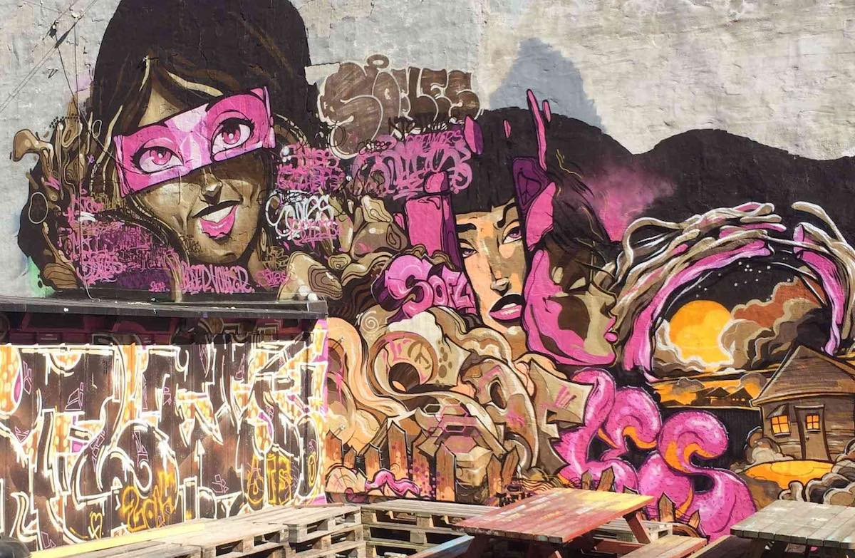 Sofles Graffiti Artist for Hire