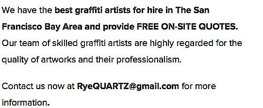 Commission Graffiti Artist for Hire San Francisco 2
