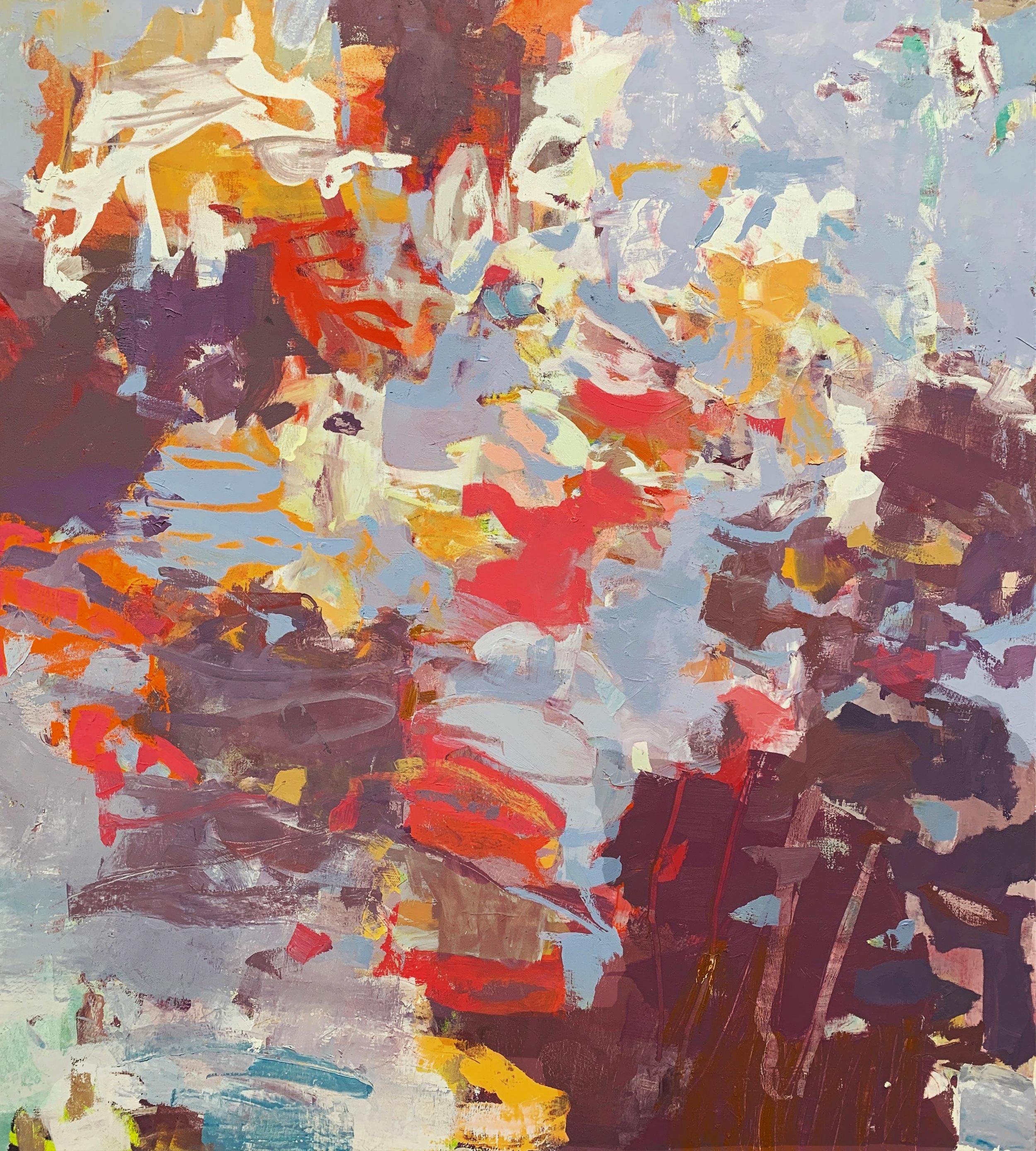 Sunriver  2019 42 x 38 inches Oil on Canvas