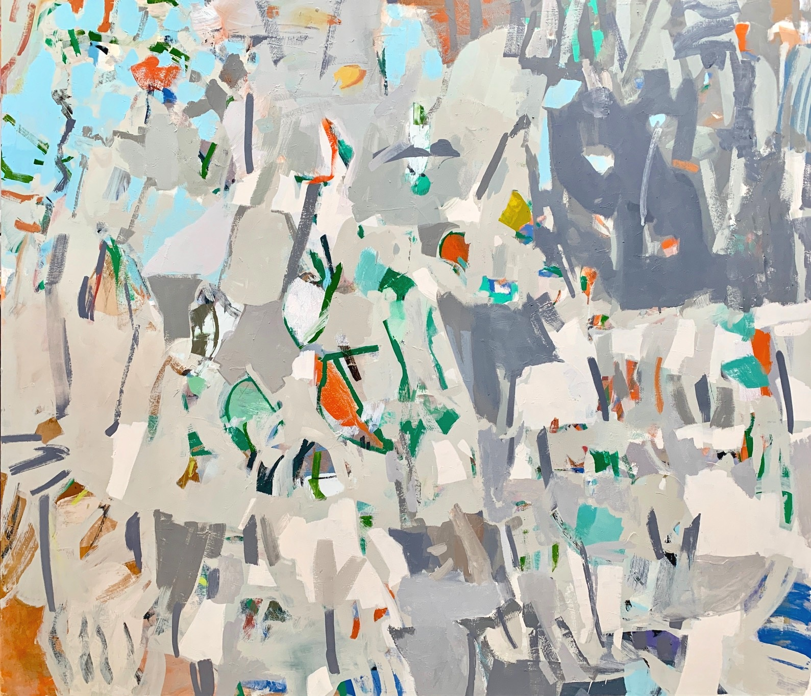 Sprig 2018 52 x 60 inches Oil on Canvas