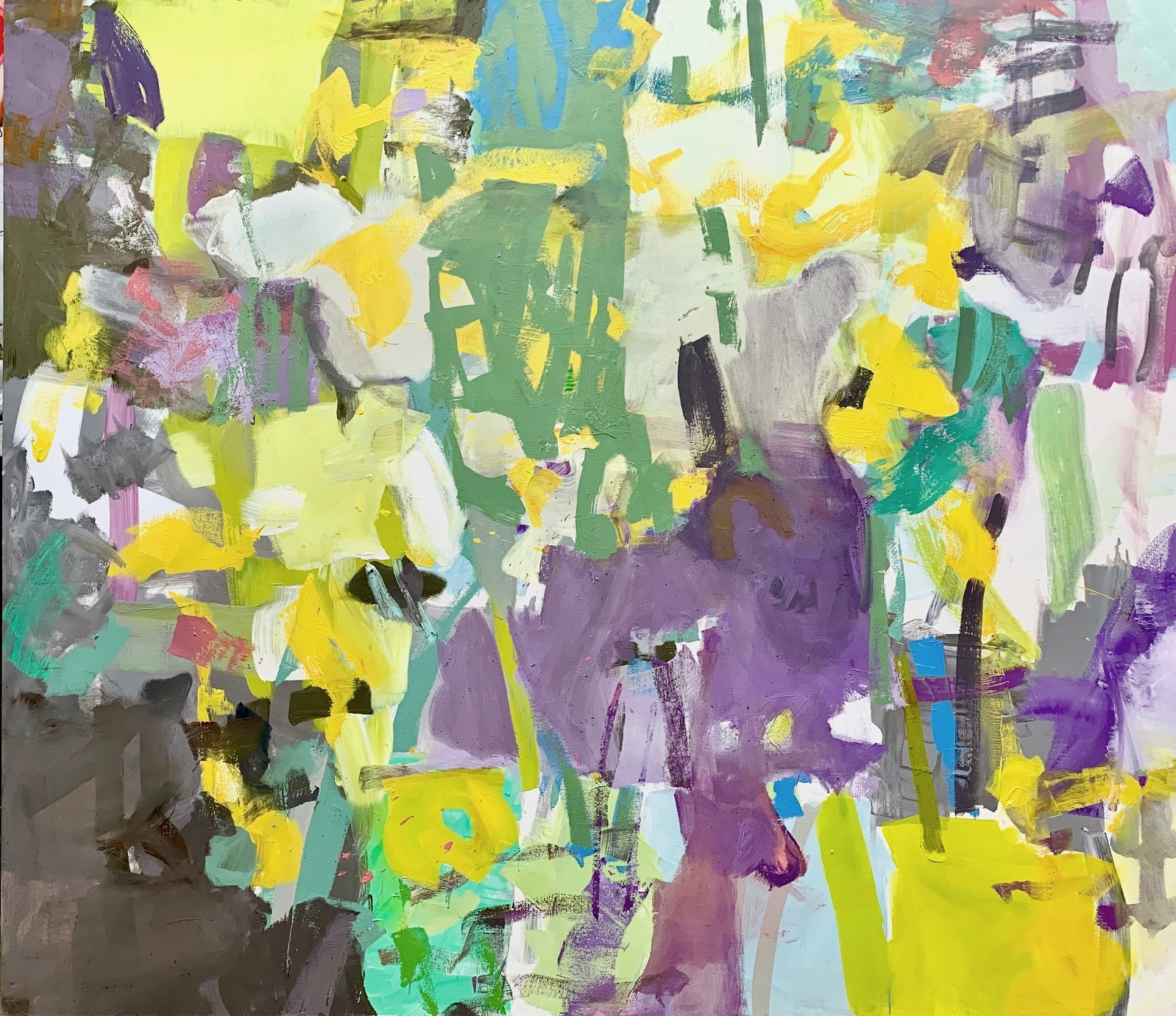 Perennial  2019 52 x 60 inches Oil on Canvas