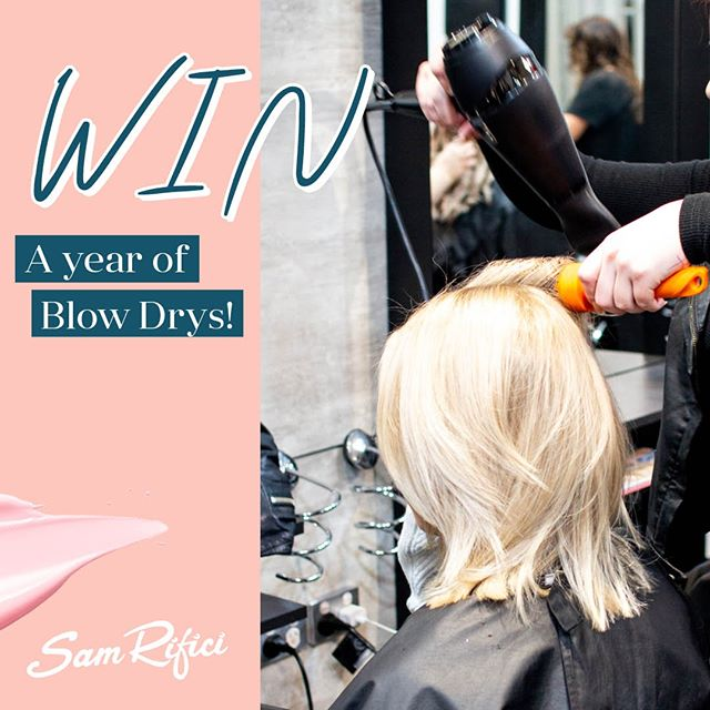 💕 WIN A YEAR OF BLOW DRYS 💕⠀⠀⠀⠀⠀⠀⠀⠀⠀ ⠀⠀⠀⠀⠀⠀⠀⠀⠀ 🌟Last chance to enter! Winner announced on Monday 🌟⠀⠀⠀⠀⠀⠀⠀⠀⠀ ⠀⠀⠀⠀⠀⠀⠀⠀⠀ It's no secret, fresh hair always feels the best after leaving the salon. Now you have the chance to enjoy that good hair feeling for a whole year with a FREE Blow Dry every month.⠀⠀⠀⠀⠀⠀⠀⠀⠀ ⠀⠀⠀⠀⠀⠀⠀⠀⠀ How to enter:⠀⠀⠀⠀⠀⠀⠀⠀⠀ 🎀Follow us @samrificihaircare ⠀⠀⠀⠀⠀⠀⠀⠀⠀ 🎀Like this post ⠀⠀⠀⠀⠀⠀⠀⠀⠀ 🎀Tag a friend below - Each friend you tag is an extra entry!⠀⠀⠀⠀⠀⠀⠀⠀⠀ ⠀⠀⠀⠀⠀⠀⠀⠀⠀ For bonus entries, tag your friends in our Facebook post too! Find our page, Sam Rifici Hair Care. The lucky winner will be chosen at random and announced on October 21.⠀⠀⠀⠀⠀⠀⠀⠀⠀ ⠀⠀⠀⠀⠀⠀⠀⠀⠀ 🌟Good luck everyone! ⠀⠀⠀⠀⠀⠀⠀⠀⠀ ⠀⠀⠀⠀⠀⠀⠀⠀⠀ *T&Cs are available on our website.⠀⠀⠀⠀⠀⠀⠀⠀⠀ ⠀⠀⠀⠀⠀⠀⠀⠀⠀ #competition #haircompetition #winstagram #perthcompetition #blowdry #hairsaloncompetition #comp #perth #perthisok #perthhairdresser #perthhair #perthhairstylist #floreat #westernsuburbs #perthlove #perthstylist #hairfashion #hairsalon #hairandbeauty #soperth