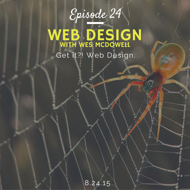 What is it like to be and how to become a web designer interview with Wes McDowell