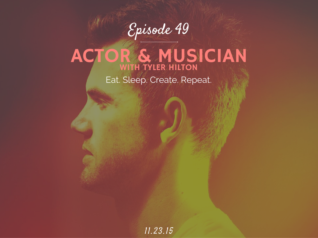What is it like to be a celebrity, actor, musician and how to become one interview with Tyler Hilton