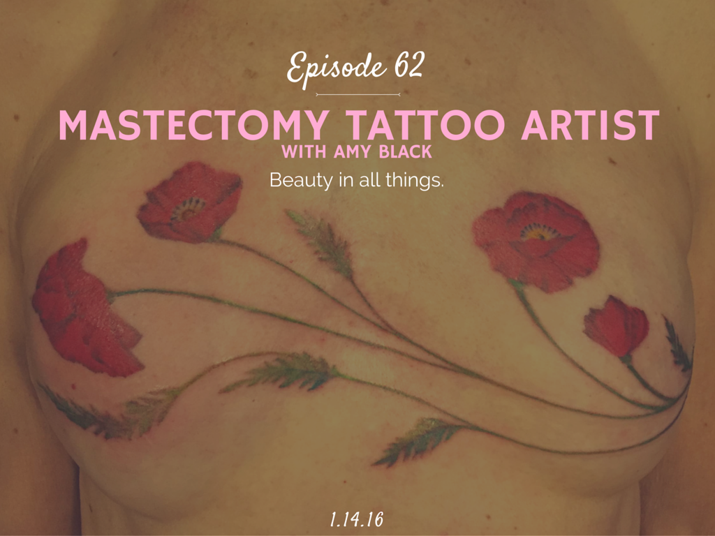 What is a mastectomy tattoo artist Amy Black interview