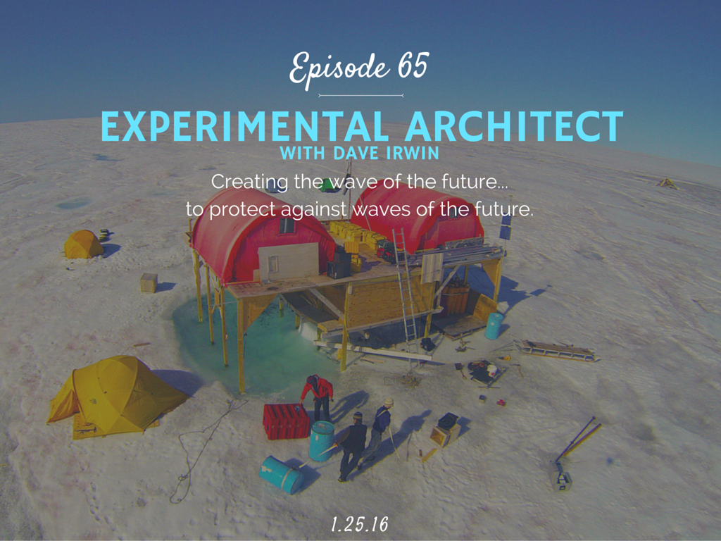 What is an experimental architect and what is Rig interview with Dave Irwin