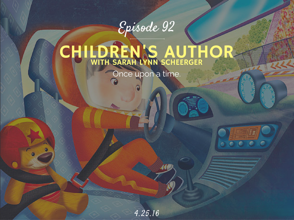 How to become a children's author interview with Sarah Lynn Scheerger