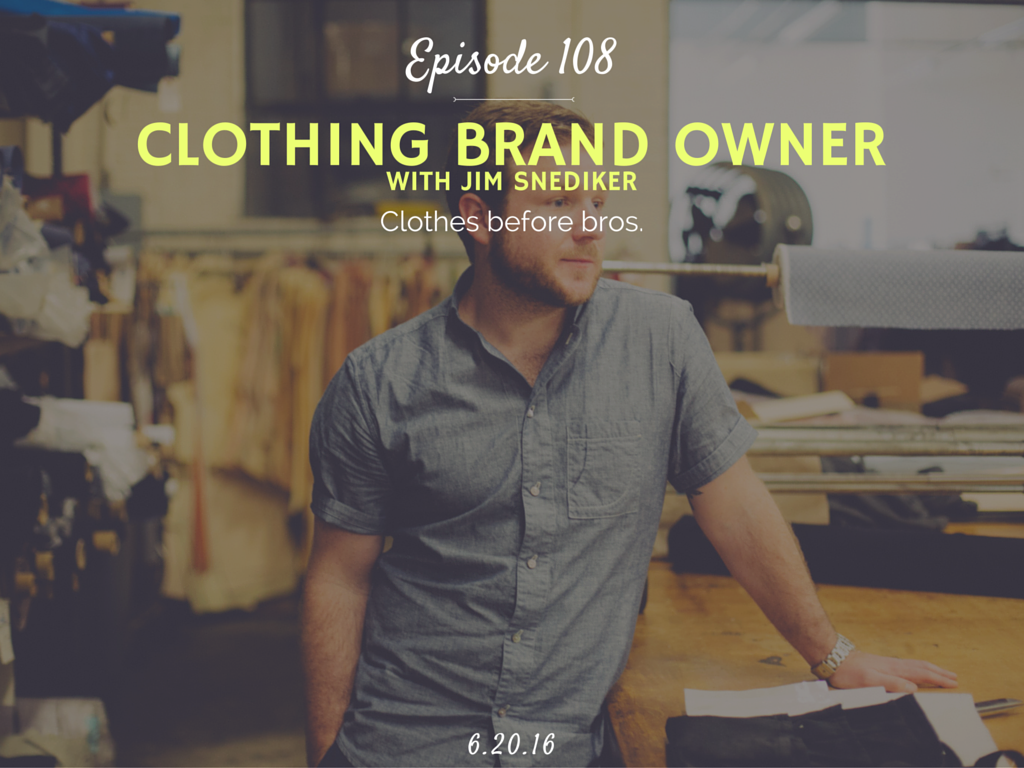 how to start your own clothing company interview with Stock Manufacturing Co Owner