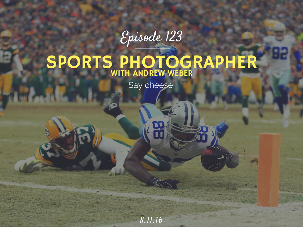 how to become a sports photographer interview with andrew weber